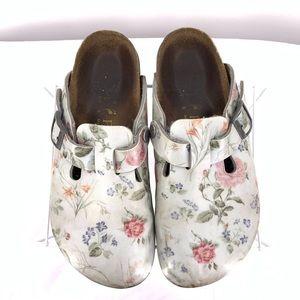 Papillio Flower Design Women's Sandals Size 5